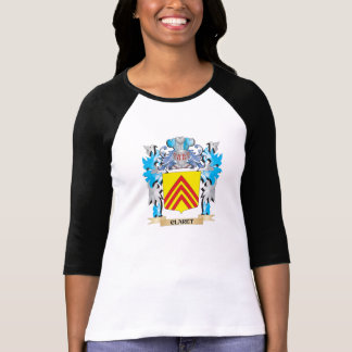 Claret Coat of Arms - Family Crest Tee Shirt