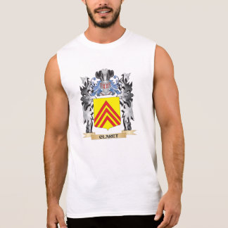 Claret Coat of Arms - Family Crest Sleeveless Tee