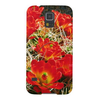 Claret Cup Cactus Wildflowers Case For Galaxy S5