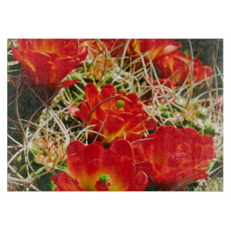 Claret Cup Cactus Wildflowers Cutting Board