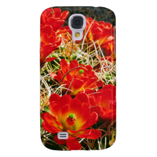 Claret Cup Cactus Wildflowers Galaxy S4 Case