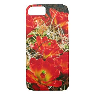 Claret Cup Cactus Wildflowers iPhone 8/7 Case