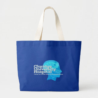 Claridge University Brain Transplant Center Tote! Large Tote Bag
