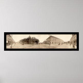 Clarinda, Iowa Photo 1908 Poster