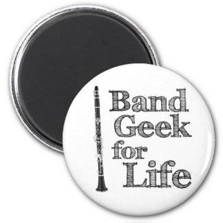 Clarinet Band Geek 6 Cm Round Magnet