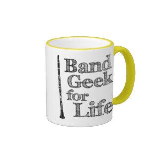 Clarinet Band Geek Coffee Mugs