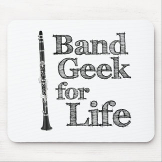 Clarinet Band Geek Mouse Pad