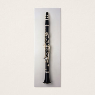 Clarinet Bookmark Mini Business Card