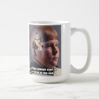 Clarinet Boy Coffee Mug