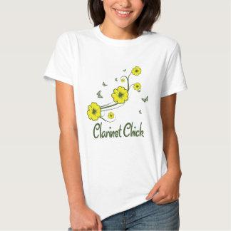 Clarinet Chick T Shirts