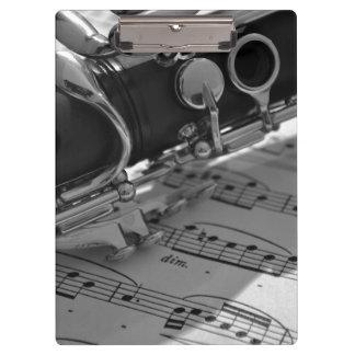 Clarinet Clipboard