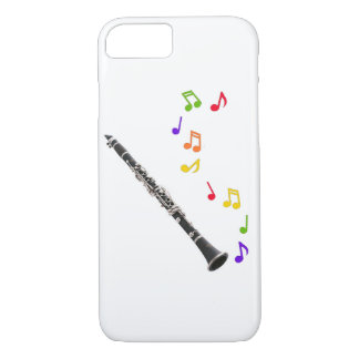 Clarinet Colourful Music iPhone 7 Case