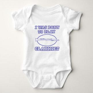 Clarinet Designs Baby Bodysuit
