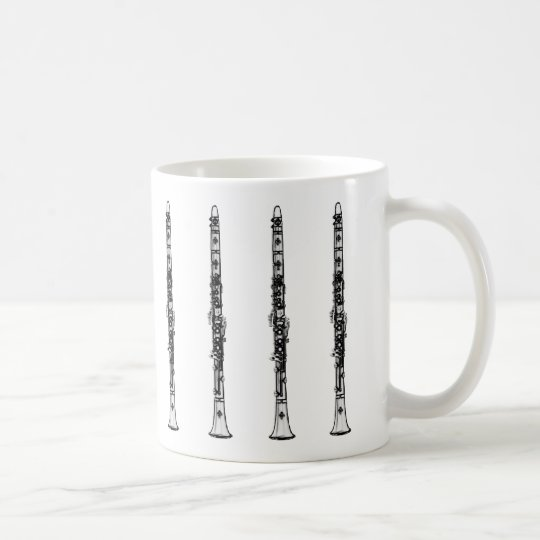 "Clarinet ""Drawing"" Coffee Mug"