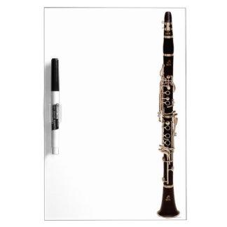 Clarinet Dry Erase Board