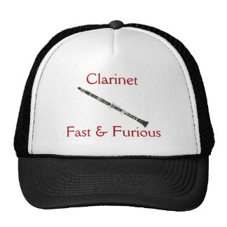 Clarinet:  Fast & Furious Hat