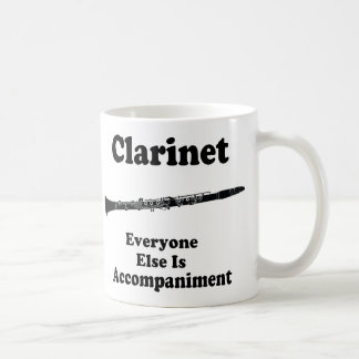 Clarinet Gift Coffee Mug