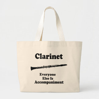 Clarinet Gift Large Tote Bag