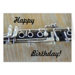 Clarinet Greeting Card