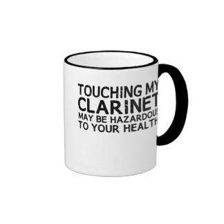 Clarinet Hazard Coffee Mug