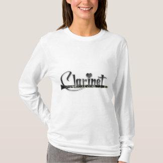 Clarinet I Love Clarinet T-Shirt