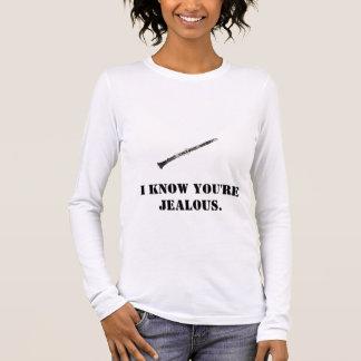 Clarinet Jealousy Long Sleeve T-Shirt