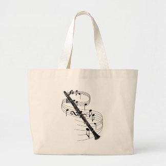 Clarinet Large Tote Bag