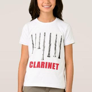 Clarinet Lineup T-Shirt