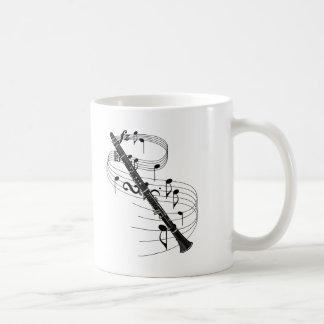 Clarinet Classic White Coffee Mug