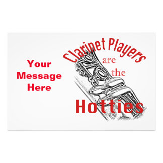 Clarinet Music Musician Band Invitation Cards Photographic Print