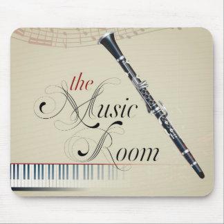 Clarinet Music Room Mousepad