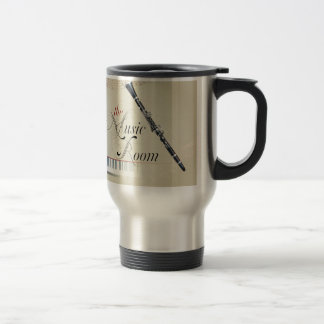 Clarinet Music Room Travel Mug