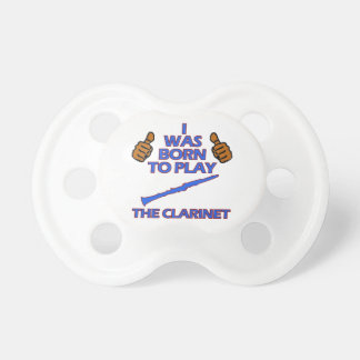 clarinet Musical designs Pacifiers