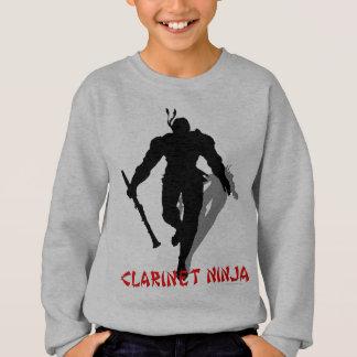 Clarinet Ninja Sweatshirt
