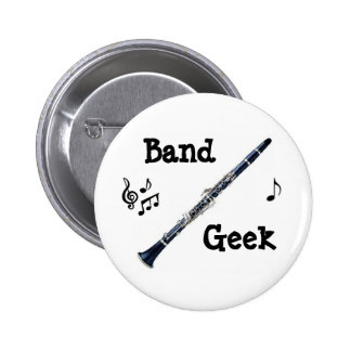 Clarinet Pinback Buttons