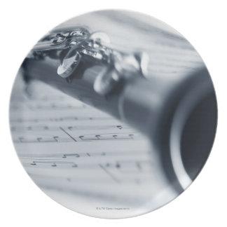 Clarinet Plate