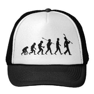 Clarinet Player Trucker Hats