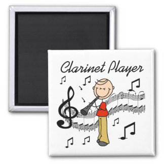 Clarinet Player Magnet Magnet