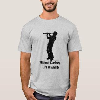 Clarinet Player T-Shirt