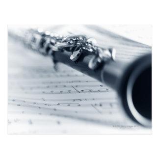 Clarinet Postcard