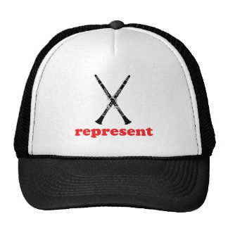 Clarinet Represent Mesh Hats