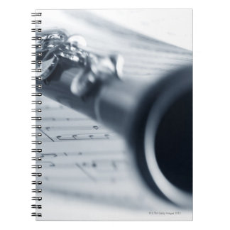 Clarinet Spiral Notebooks