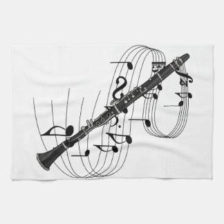 Clarinet Tea Towels