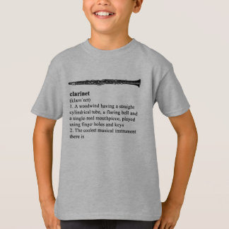 Clarinet - the coolest instrument there is tshirt