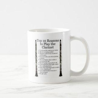 Clarinet Top 10 Coffee Mug