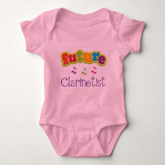 Clarinetist (Future) Baby Bodysuit