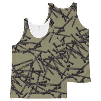 Clarinets All-Over All-Over Print Tank Top
