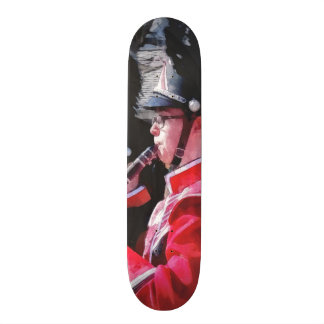 Clarinets and Flutes in the Parade Skate Deck