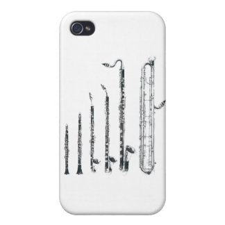 clarinets iPhone 4 covers