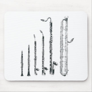 clarinets mouse mat